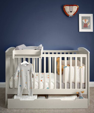 Mamas & Papas Mia Cot bed Package - Classic Grey