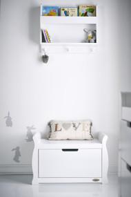Obaby Stamford Toy Box - White