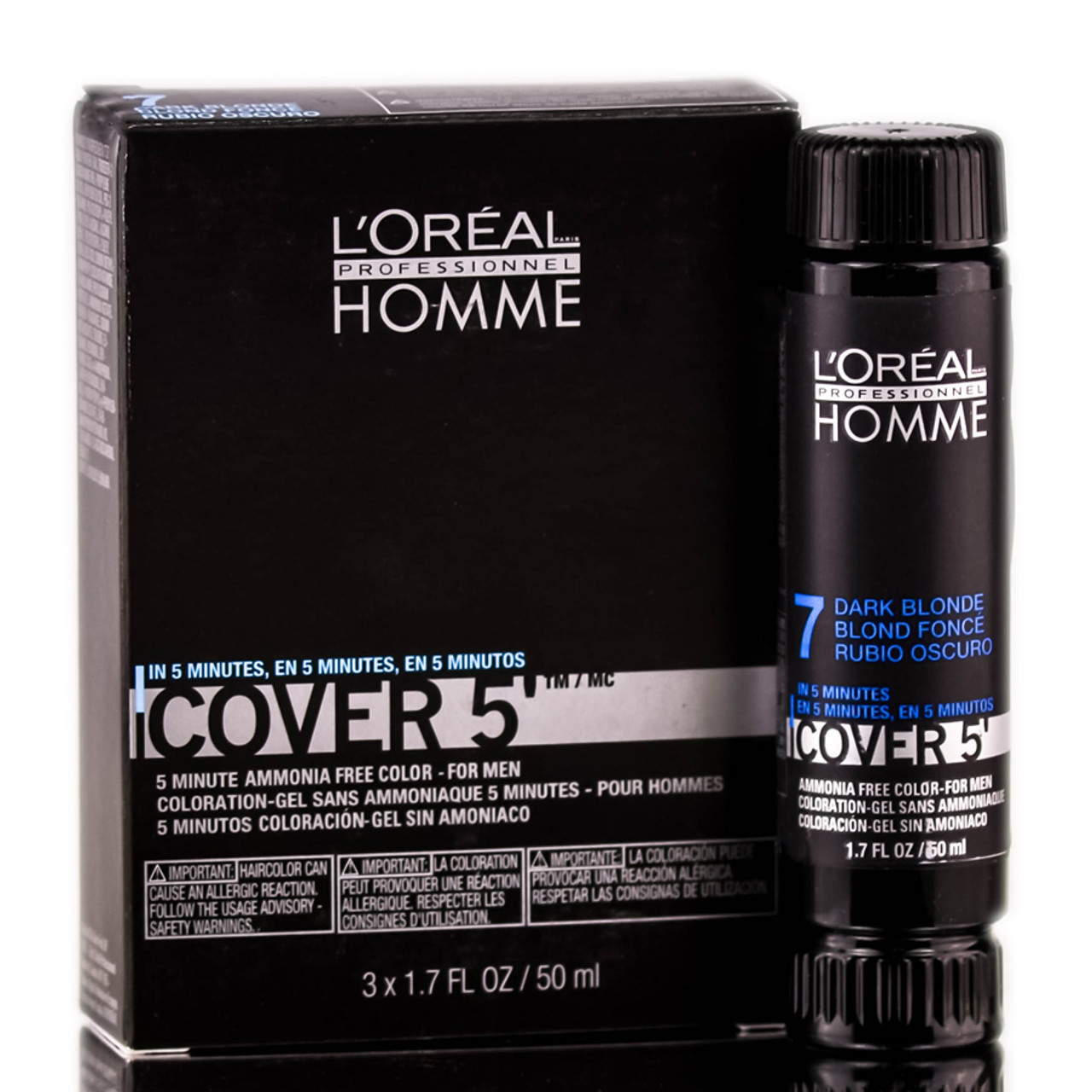 loreal homme cover 5 ammonia free 5 minute color for men - Keune Color Swatch Book