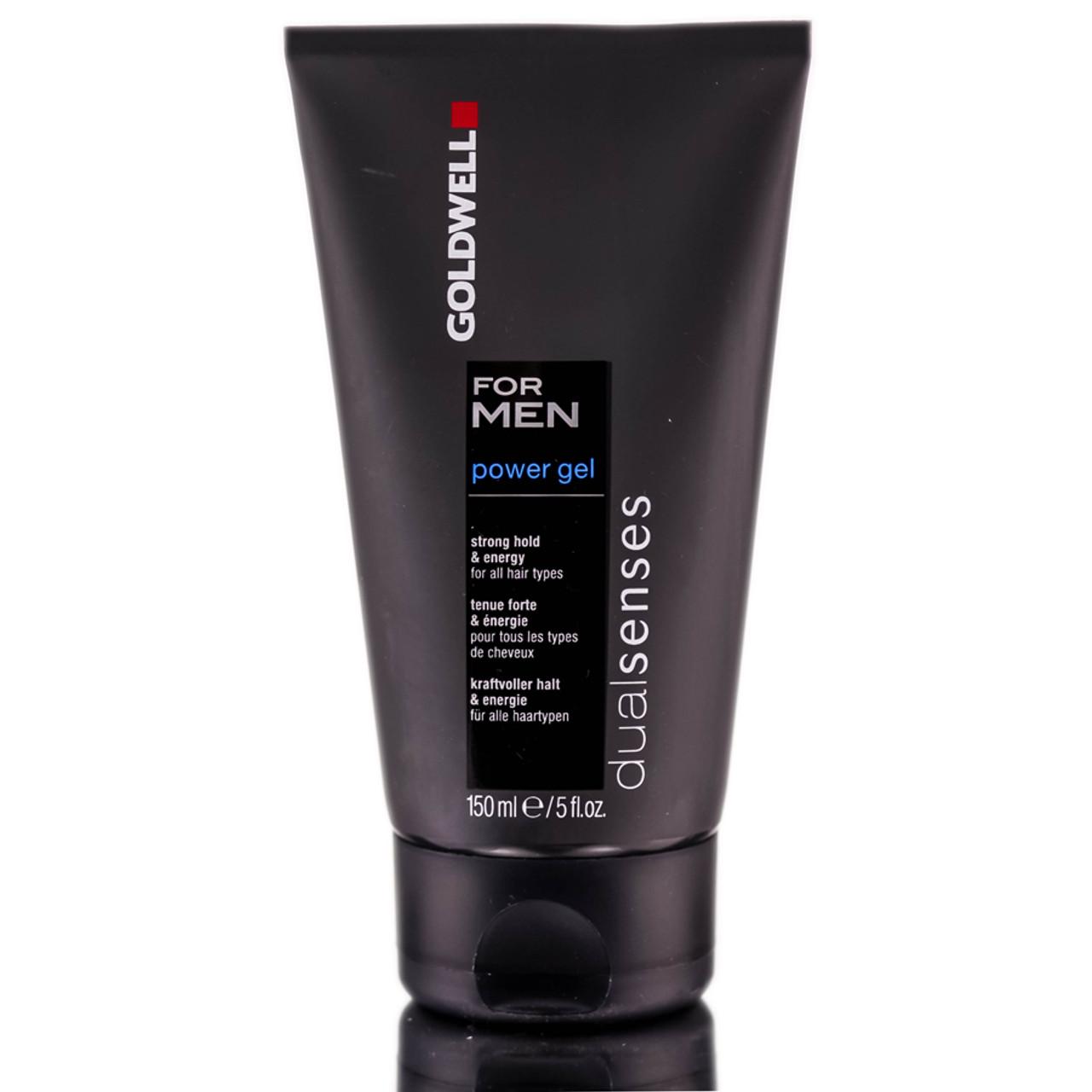 Hair Styling Gel For Men: Goldwell For MEN DualSenses Power Gel