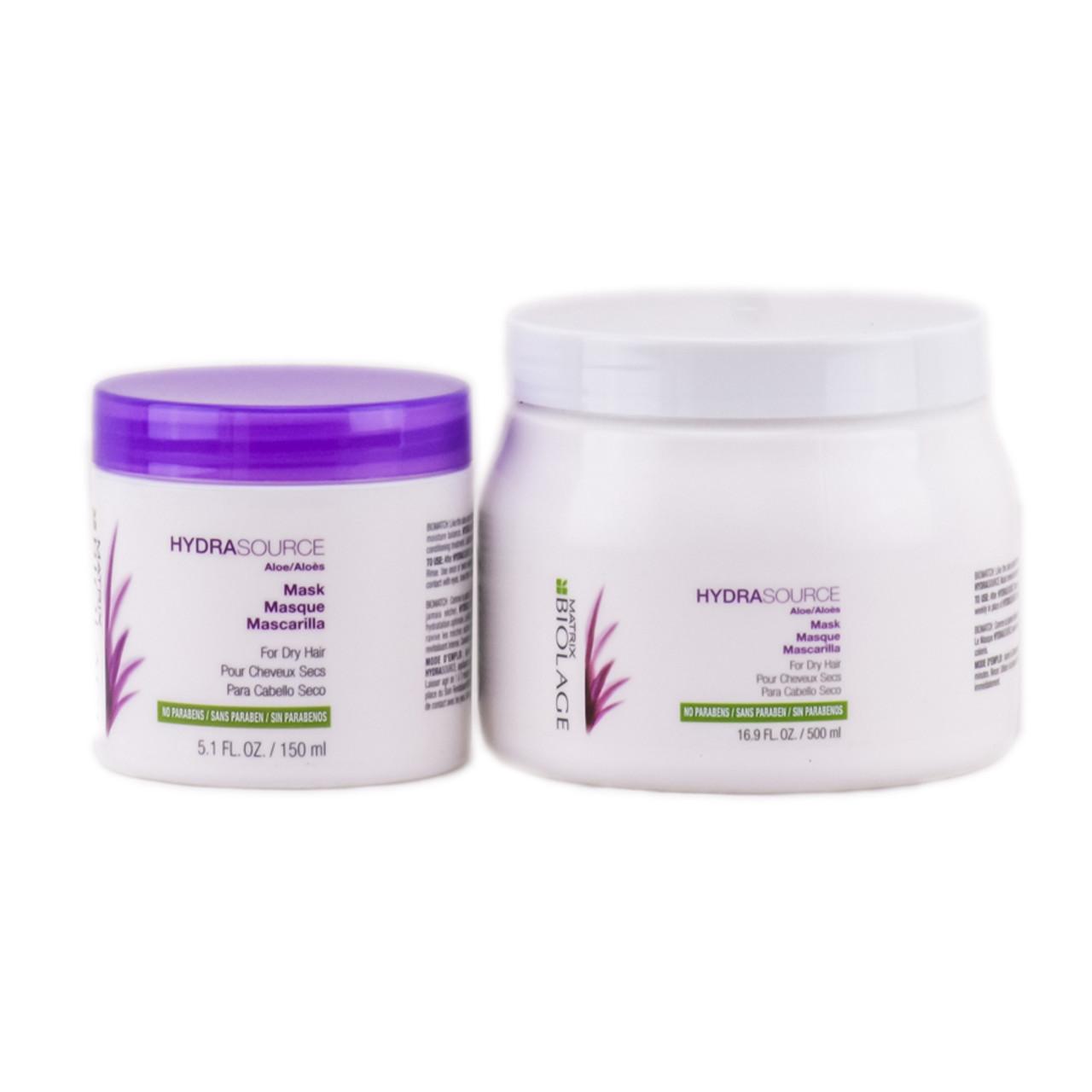 Matrix hair brush 4 - Matrix Biolage Hydrasource Mask For Dry Hair