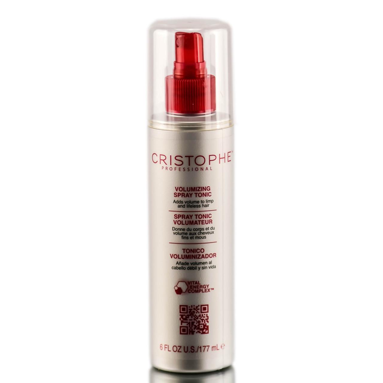 Cristophe professional volumizing spray tonic sleekshop for Cristophe salon prices