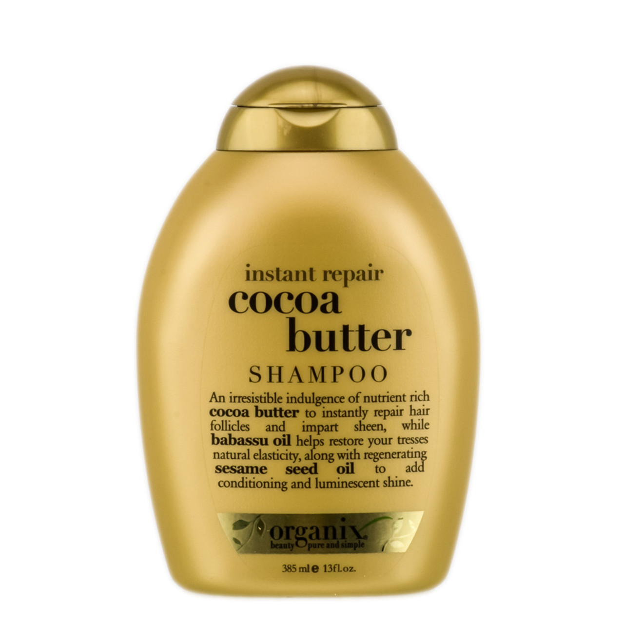 Organix cocoa butter shampoo