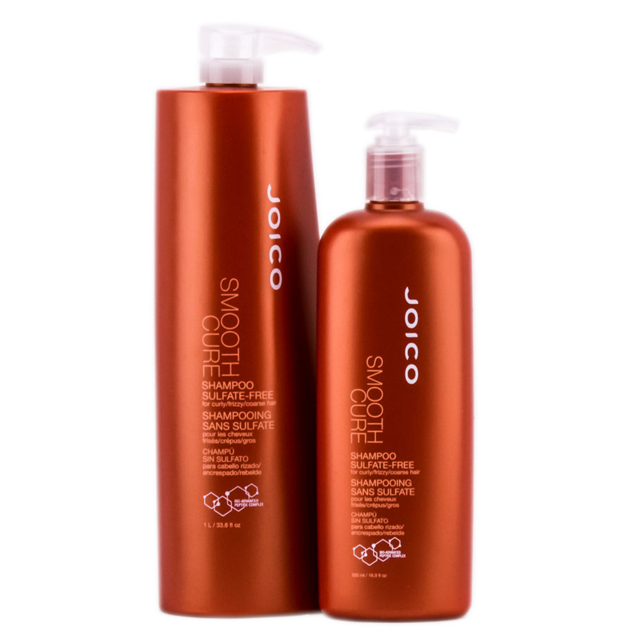 Joico Smooth Cure Sulfate-Free Shampoo For Curly Frizzy