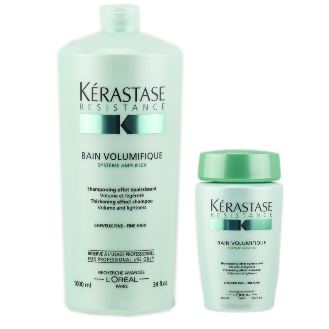 Kerastase resistance bain volumifique thickening effect for Bain miroir 1 kerastase