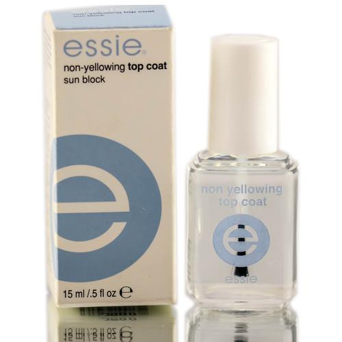 Essie Non-Yellowing Top Coat Sun Block