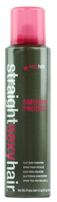 Straight Sexy Hair Smooth & Protect Flat Iron Hairspray