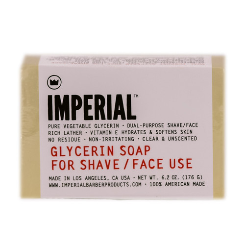 Imperial Glycerin Soap For Shave/Face Bar