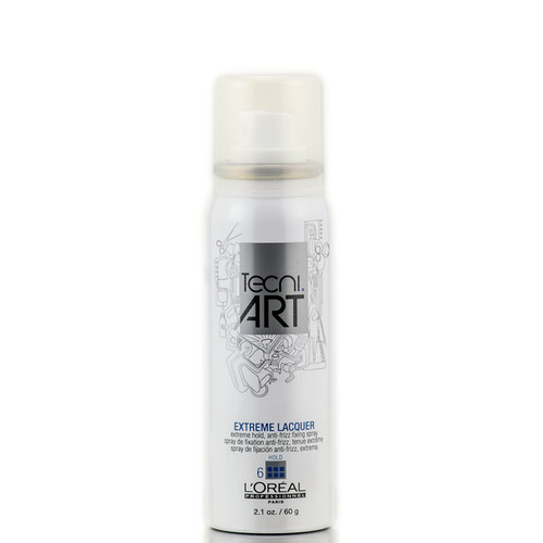 L'Oreal Professional Tecni Art Extreme Lacquer Hold Anti Frizz Fixing Spray