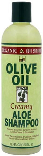 Orangic Root Stimulator Olive Oil Creamy Aloe Shampoo