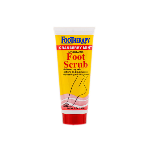 Footherapy Cranberry Mint Invigorating Foot Scrub