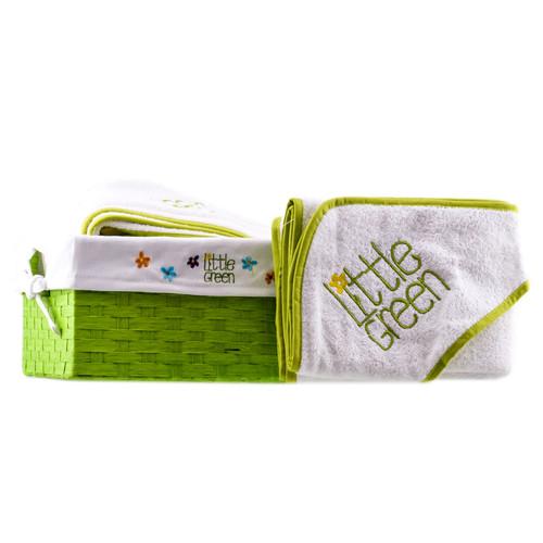 Little Green Baby Towel