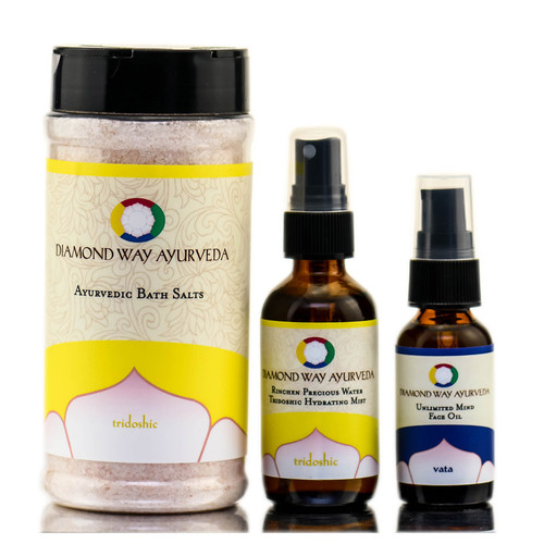 Ayurveda Stress Relief Gift Set