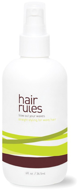 Hair Rules Blow Out Your Waves