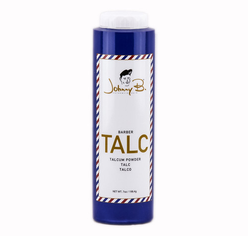 Johnny B Authentic Hair Barber Talc Talcum Powder