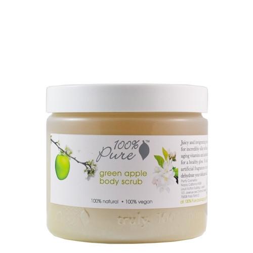 100% Pure Green Apple Body Scrub