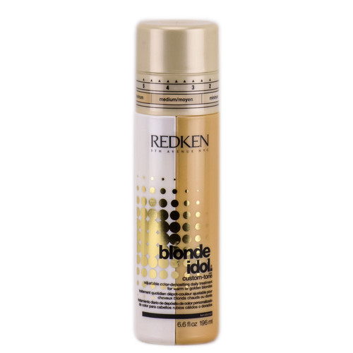 Redken Blonde Idol Custom Tone For Warm or Golden Blondes