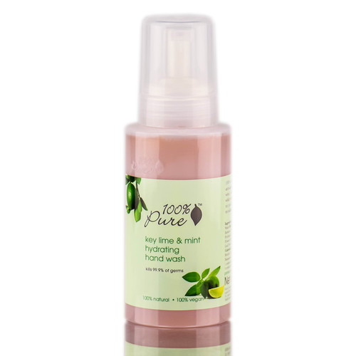 100% Pure Key Lime & Mint Hydrating Hand Wash