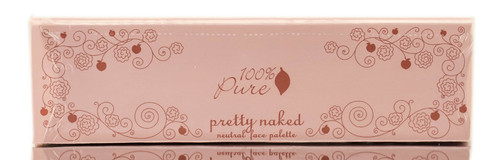 100% Pure Fruit Pigmented Pretty Naked Neutral Face Palette