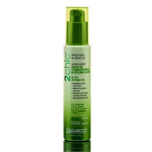 Giovanni 2Chic Avocado & Olive Oil Leave-In Conditioning & Styling Elixir