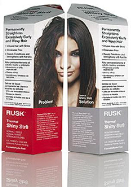 Rusk Thermal Shiny Str8 - Permanent Straightener (formaldehyde-free)