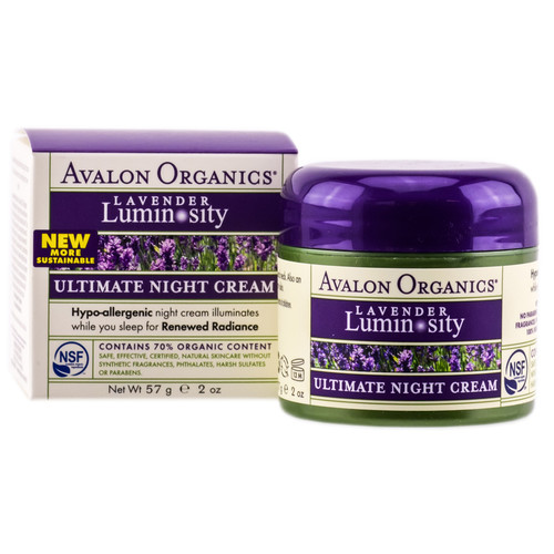 Avalon Organics Lavender Luminosity - Ultimate Night Cream