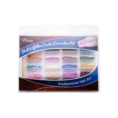 Cinapro Professional Nail Art - Combo Decoration Kit