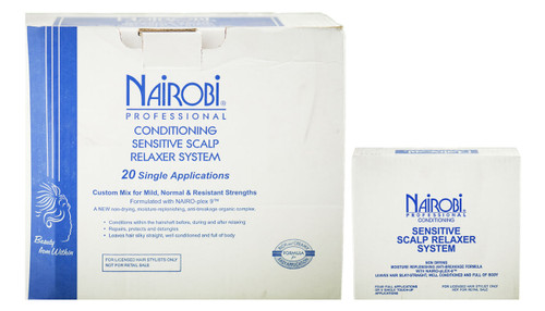 Nairobi Conditioning Sensitive Scalp Hair Relaxer Kit