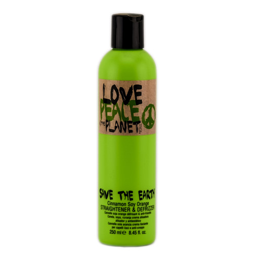 Tigi Save the Earth Cinnamon Soy Orange Straightener & Defrizzer