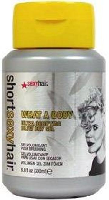 Short Sexy Hair What A Body Ultra Bodifying Blow Dry Gel