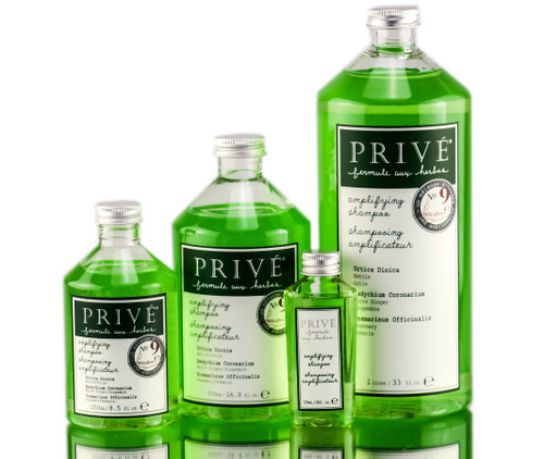Prive Amplifying Shampoo - Herbal Blend #9