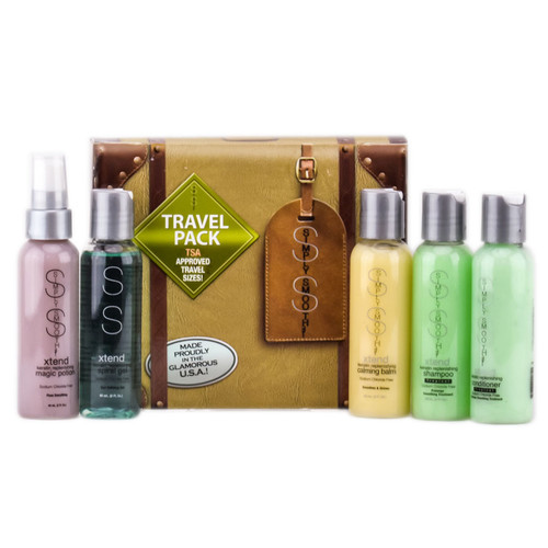 Simply Smooth Holiday Hair Set - Travel Pack Kit