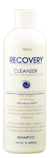 Nairobi Recovery Cleanser Shampoo - For Fine or Thinning Hair