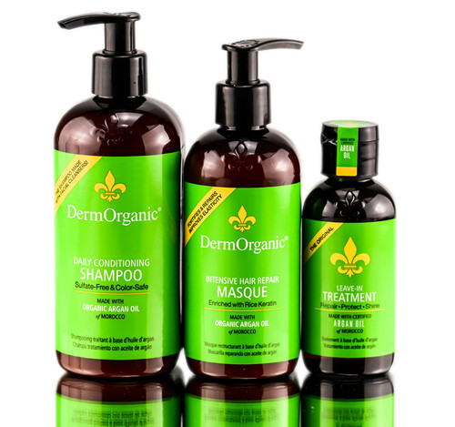 DermOrganic Argan Oil Hair Treatments Opener Bag Deal