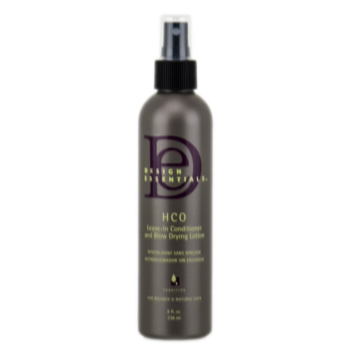 Design Essentials HCO Leave-In Conditioner & Blow Drying Lotion