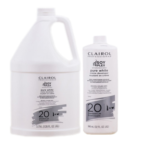Clairol Pure White Creme Developer - Standard Lift