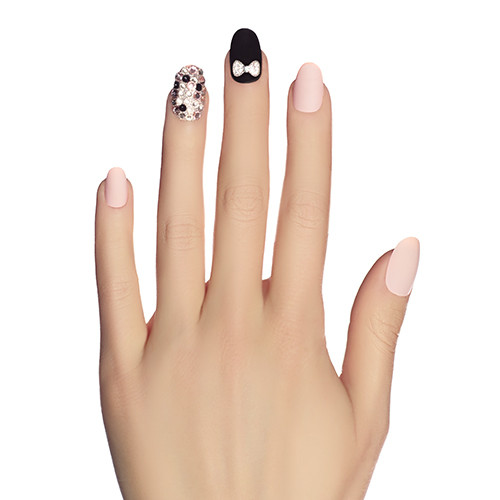 Static Nails All-in-One Kit - Black Tie