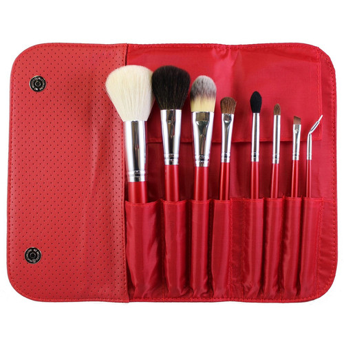 Morphe 8 Piece Candy Apple Red Brush Set - 700