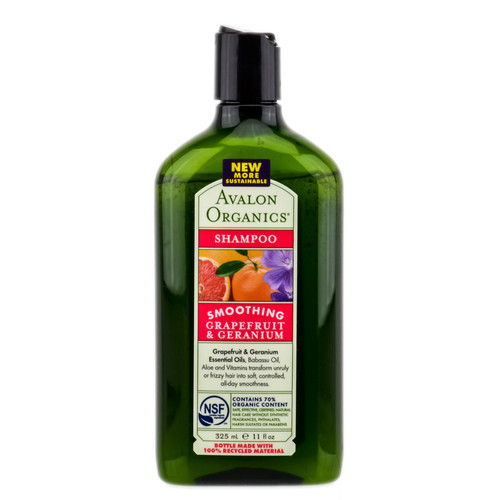 Avalon Organics Grapefruit & Geranium Smoothing Shampoo