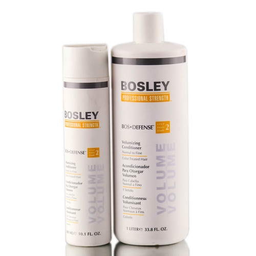 Bosley Defense Volumizing Conditioner for Normal to Fine / Color-Treated Hair