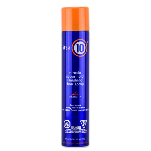 It's a 10 Miracle Super Hold Finishing Hair Spray - Plus Keratin