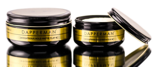 Dapperman Naturally Derived Righteous Hold Matte Clay