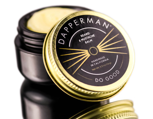 Dapperman Naturally Derived Beard Balm