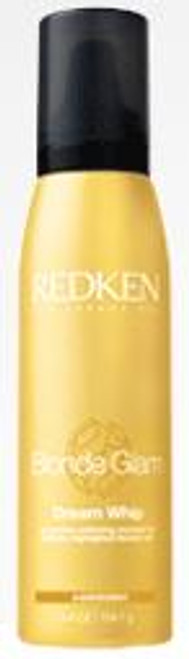 Redken Blonde Glam Dream Whip - protective softening mousse