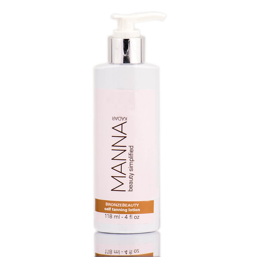Manna Kadar Bronze Beauty Self Tanning Lotion