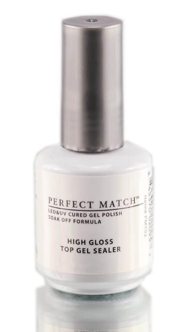 Gel Polish: Lechat Perfect Match High Gloss Top Gel Sealer