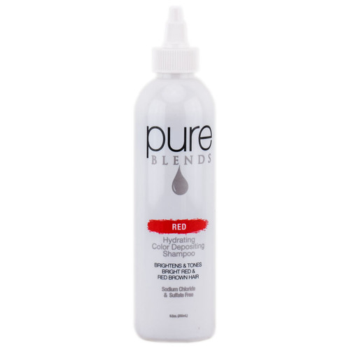 Pure Blends Hydrating Color Depositing Shampoo - Red