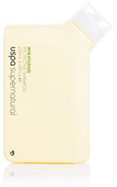 Uspa Supernatural Wheatgrass Protective Shampoo