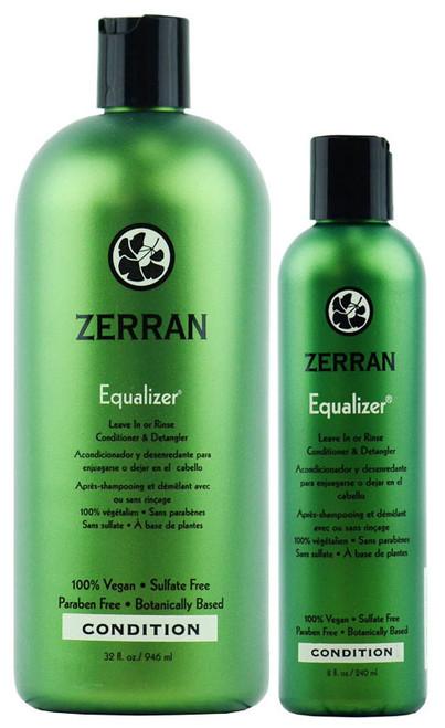 Zerran Equalizer - Leave In or Rinse Conditioner & Detangler