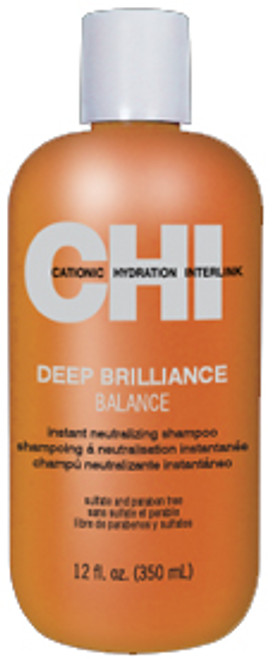 CHI Deep Brilliance Balance Instant Neutralizing Shampoo